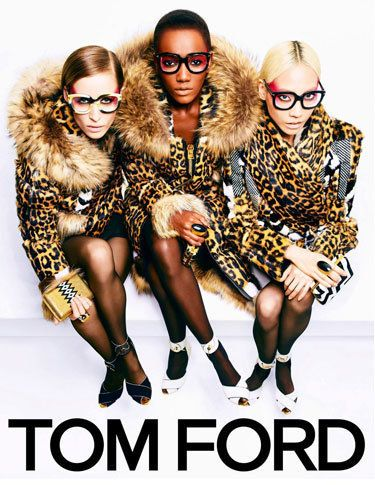 Models: Zuzanna Bijoch, Herieth Paul and Joo Park Photographer: Tom Ford