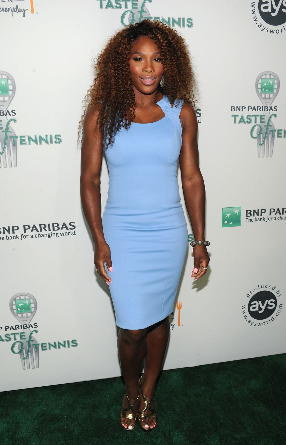NEW YORK, NY - AUGUST 22:  Tennis Pro Serena Williams attends the 14th Annual BNP Paribas Taste Of Tennis at W New York Hotel