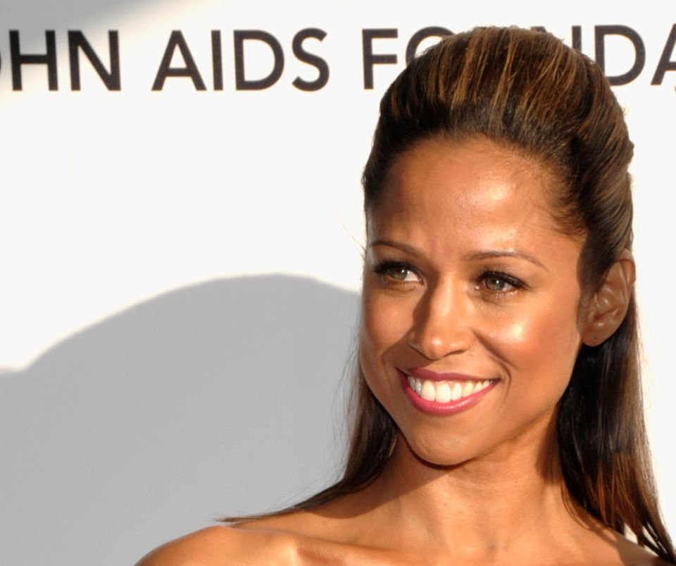 FILE - In this Sunday, March 7, 2010, file photo Stacey Dash arrives at the Elton John Oscar Party in West Hollywood, Calif.