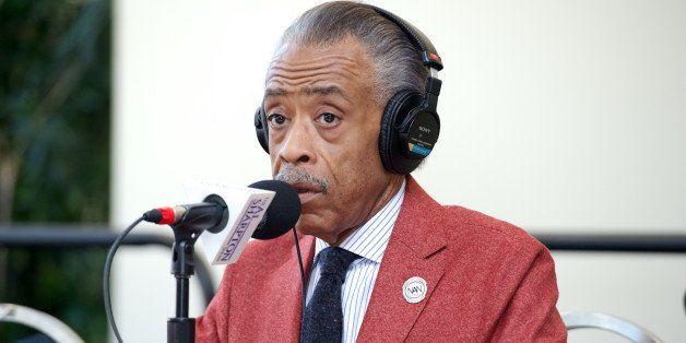 WASHINGTON, DC - SEPTEMBER 18:  Al Sharpton broadcasts live on  Day 1 of  the 43rd Annual Legislative Conference on September