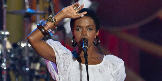 PHILADELPHIA, PA - JULY 04:  Lauryn Hill performs at the Philly Fourth Of July Jam at Benjamin Franklin Parkway on July 4, 20