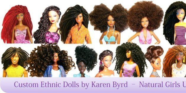 Natural Girls United Gives Dolls Amazing Hair Makeovers Huffpost
