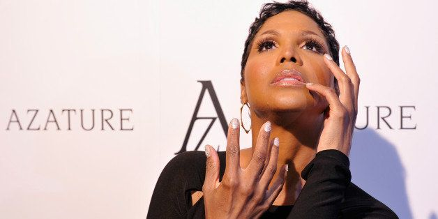 WEST HOLLYWOOD, CA - OCTOBER 08:  Recording artist Toni Braxton attends The Black Diamond Affair with A Z A T U R E at Sunset