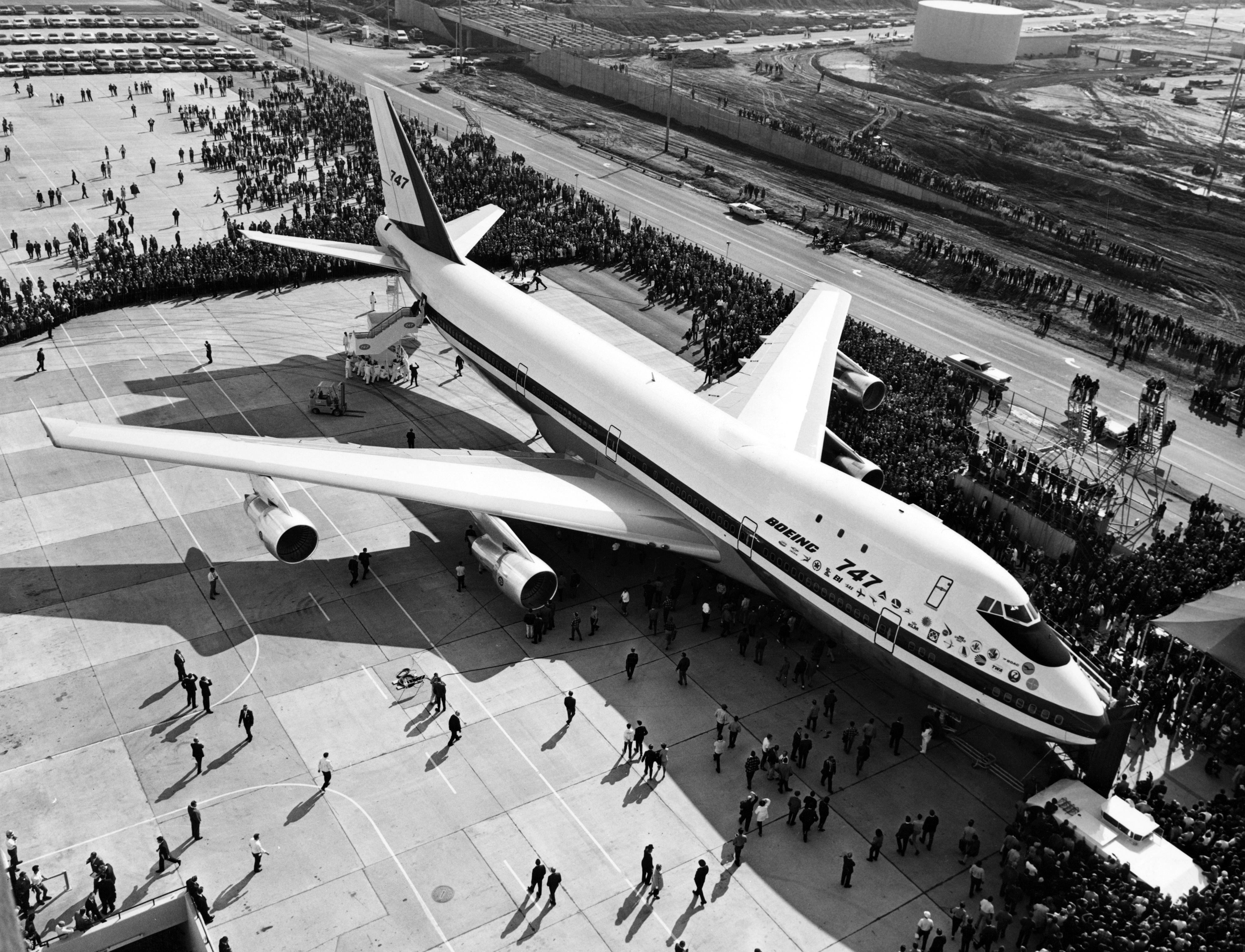'하늘의 여왕' 50주년 : 세계를 바꾼 보잉 747의 간략한 역사 (화보)