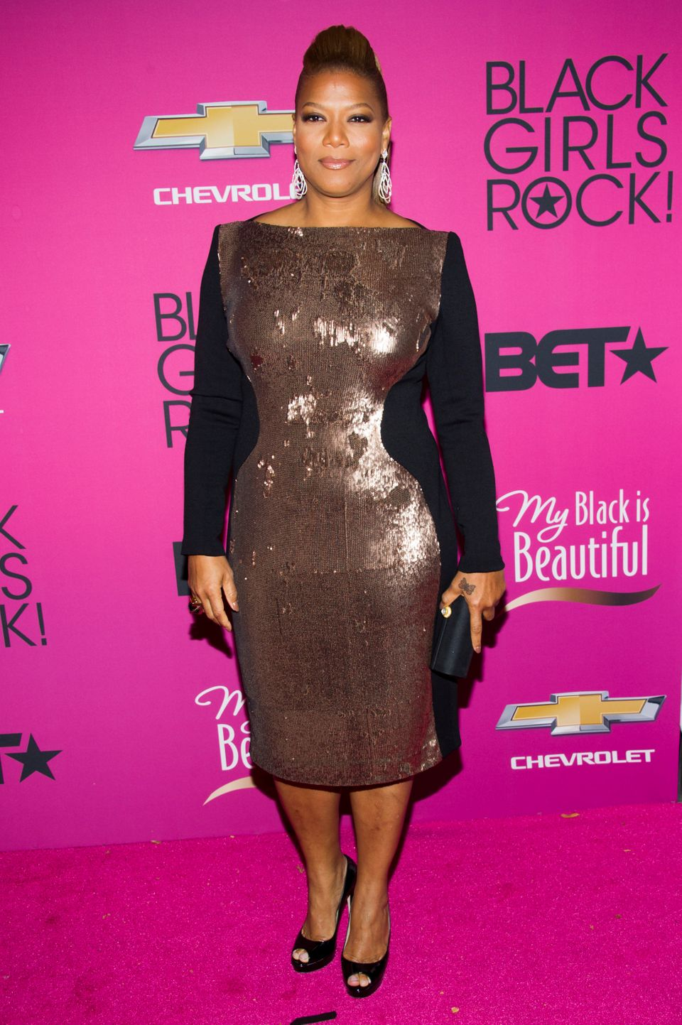 Queen Latifah attends BET Network's Black Girls Rock! on Saturday, Oct. 26, 2013 in Newark, N.J. (Photo by Charles Sykes/Invi