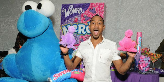 UNIVERSAL CITY, CA - AUGUST 11: Brandon T. Jackson attends the Backstage Creations Celebrity Retreat At Teen Choice 2013 - Da
