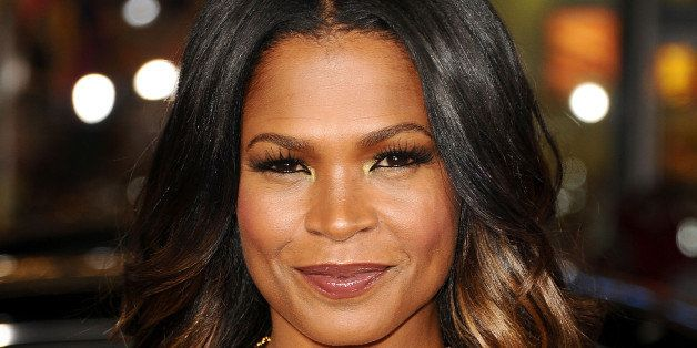 HOLLYWOOD, CA - NOVEMBER 05:  Actress Nia Long attends the premiere of 'The Best Man Holiday' at TCL Chinese Theatre on Novem
