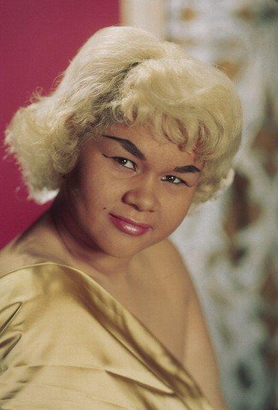 NEW YORK - CIRCA 1965: R&B singer Etta James poses for a portrait in circa 1965 in New York City, New York. (Photo by Michael