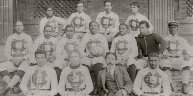 UNITED STATES - CIRCA 1899:  Football Team at Claflin University  (Photo by Buyenlarge/Getty Images)
