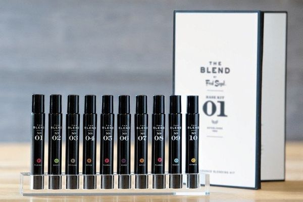 The Blend is a one-of-a-kind line of pure perfume oils founded at Fred Segal in Santa Monica. Based on an exotic palette crea