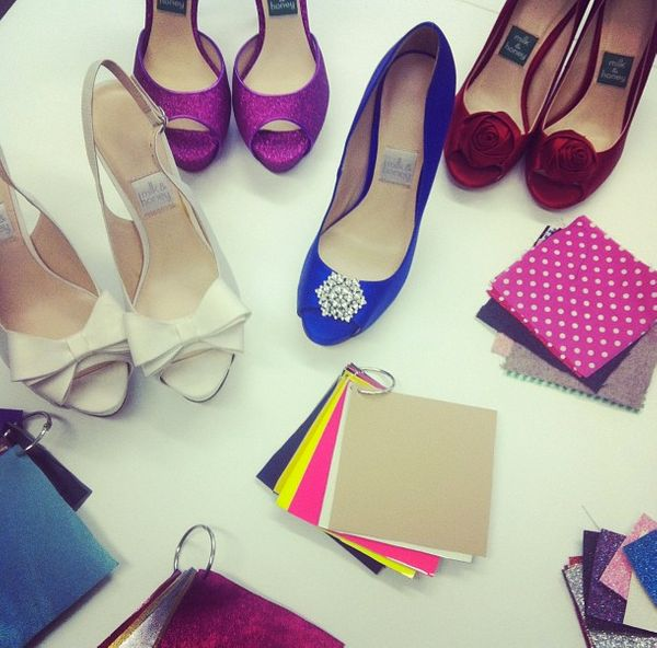 Ladies love shoes! And they will love them even more if they can design the pair of their dreams. That's just what Milk & Hon