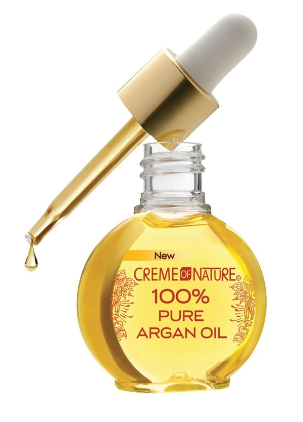 """To buy click <a href=""""http://www.amazon.com/Creme-Nature-100-Pure-Argan/dp/B00BR5ISJC?tag=thehuffingtop-20"""" target=""""_blank"""">H"""