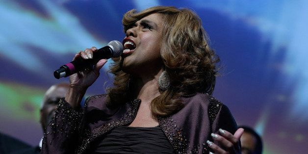 NEW YORK, NY - MARCH 07:  Jennifer Holliday performs at the 2013 UNFC 'A Mind Is' gala at New York Hilton and Towers on March