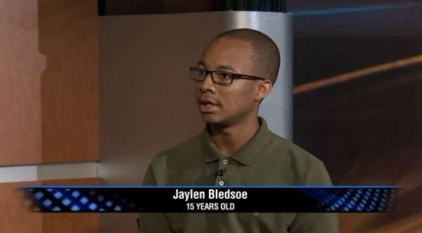 """15-year-old <a href=""""http://www.huffingtonpost.com/2013/09/03/jaylen-bledsoe_n_3860585.html"""" target=""""_blank"""">Jayden Bledsoe</"""