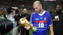 Le maillot de Zidane porté pendant France-Brésil en 98 mis aux