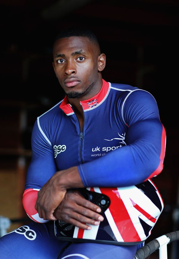 "Sport: Bobsleigh <br> <a href=""http://www.sochi2014.com/en/athlete-joel-fearon"" target=""_blank"">Team: Great Britain</a>"