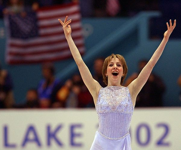 <strong>Who: </strong>Figure skater Sarah Hughes  <strong>Where: </strong>Salt Lake City, Utah  <strong>What: </strong>The 20