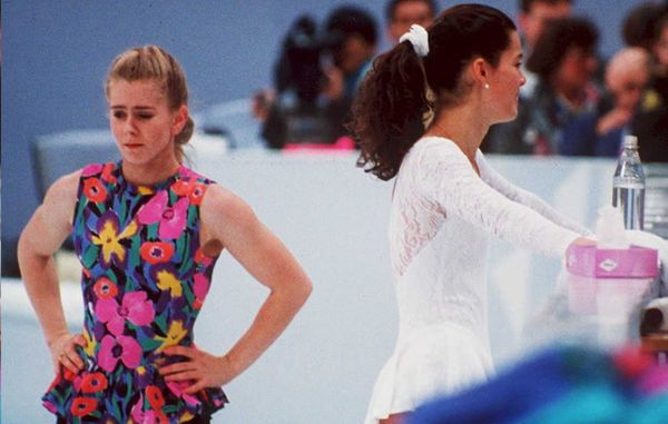 <strong>Who: </strong>Figure skaters Nancy Kerrigan and Tonya Harding   <strong>Where:</strong> Lillehammer, Norway  <strong>