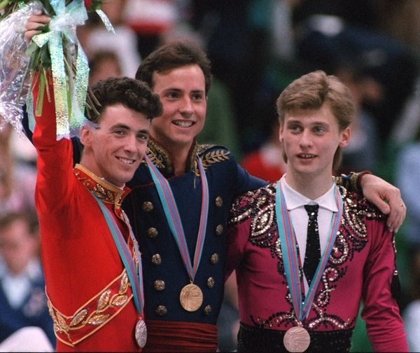<strong>Who: </strong>Figure skaters Brian Boitano and Brian Orser  <strong>Where: </strong>Calgary, Alberta, Canada  <strong