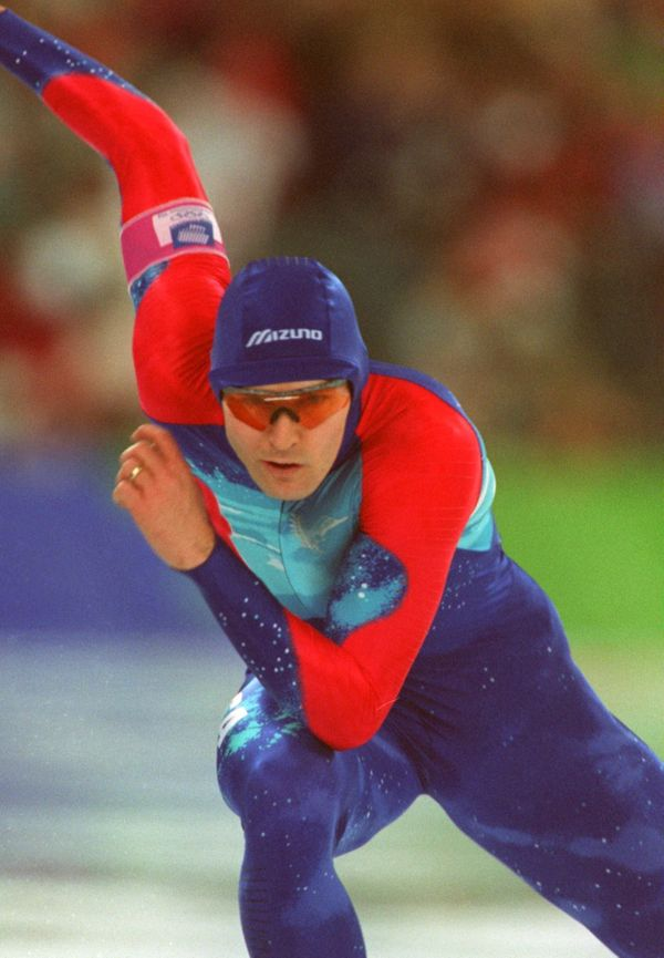 <strong>Who: </strong>Speed skater Dan Jansen  <strong>Where:</strong> Lillehammer, Norway  <strong>What: </strong>For pure c
