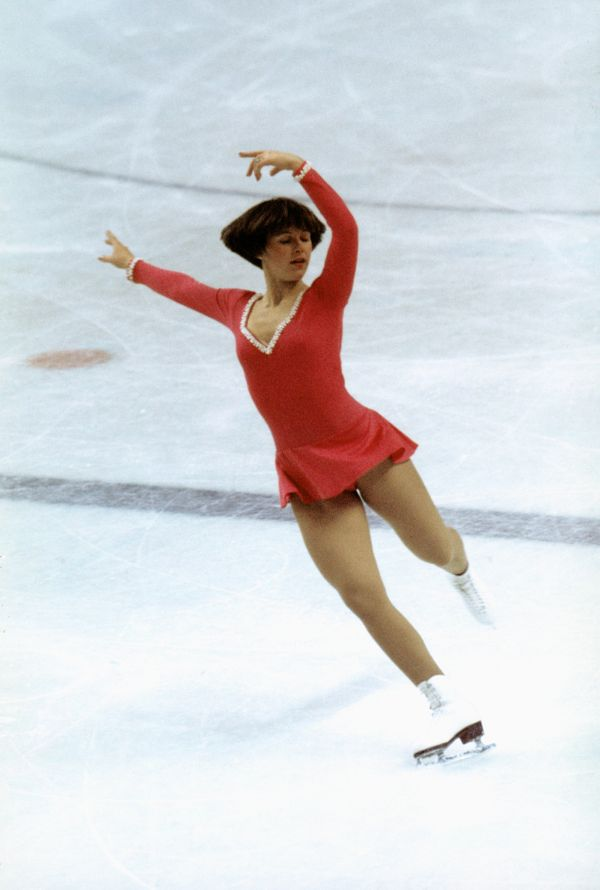 <strong>Who: </strong>Figure skater Dorothy Hamill  <strong>Where: </strong>Innsbruck, Austria  <strong>What: </strong>When a