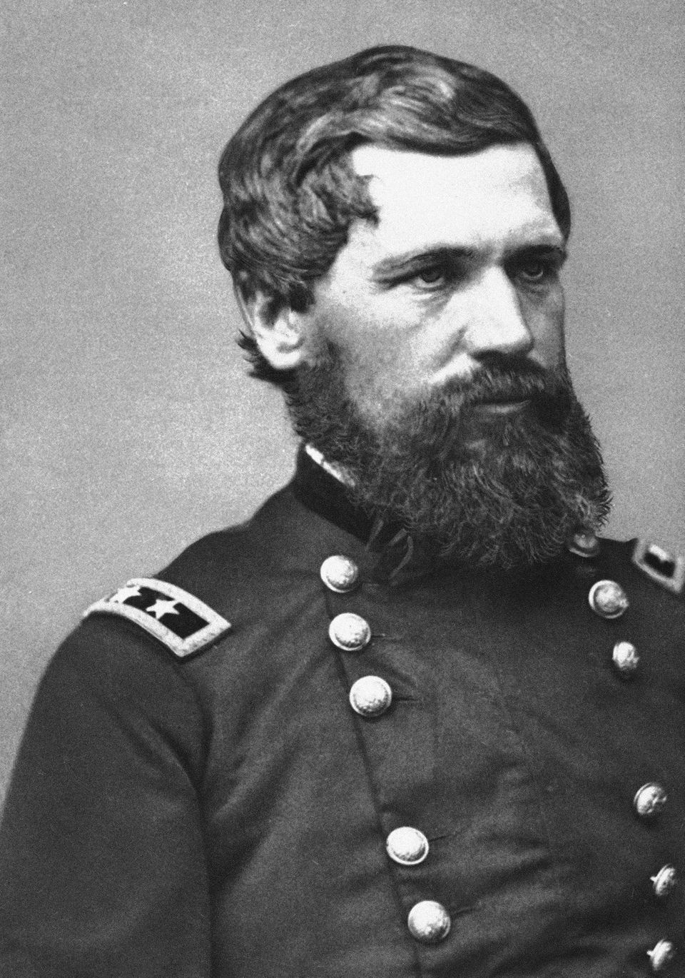 "General Oliver O. Howard, <a href=""http://www.howard.edu/explore/history.htm"" target=""_blank"">a noted Civil War hero, is the"