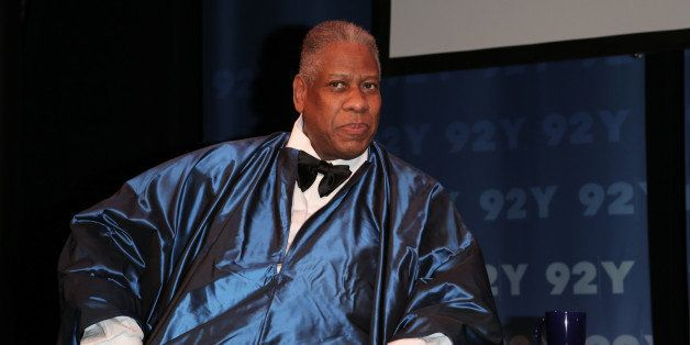 NEW YORK, NY - OCTOBER 08:  Contributing Editor at Vogue Magazine Andre Leon Talley attends the 92Y Presents: Fern Mallis Int