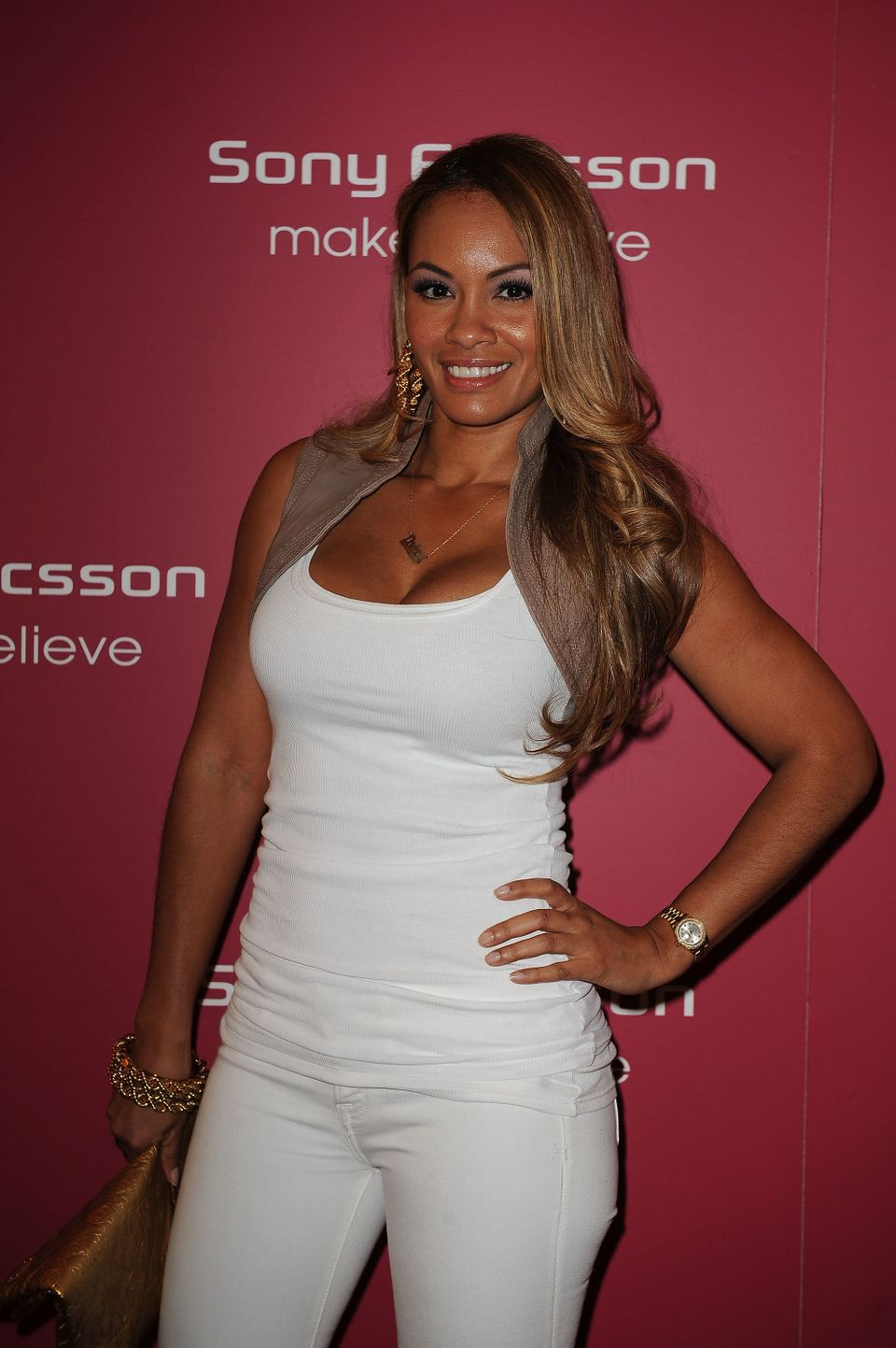MIAMI BEACH, FL - MARCH 23: Evelyn Lozada attends The Sony Ericsson Open Kick-Off Party at LIV nightclub at Fontainebleau Mia