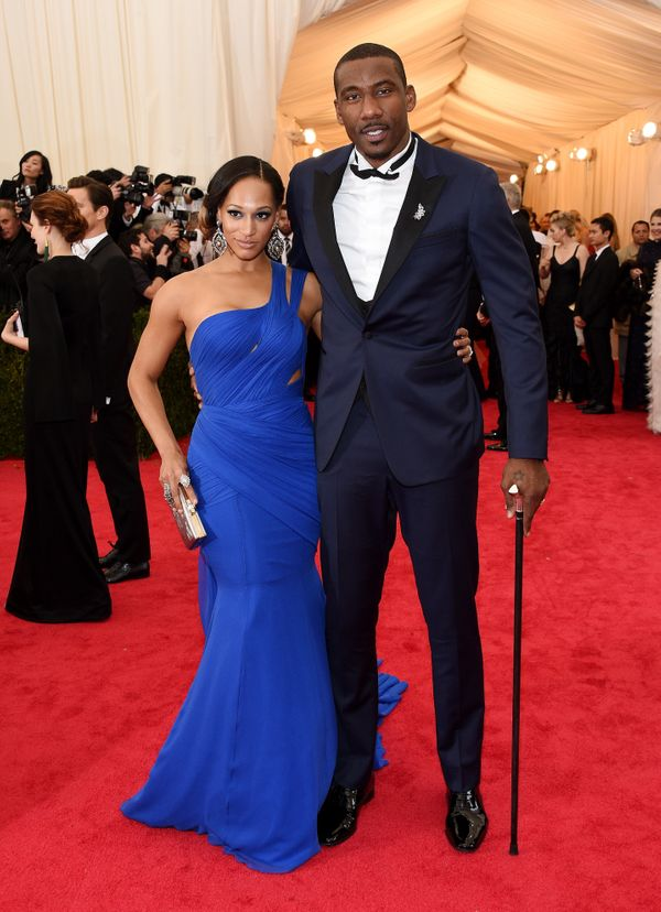 This NBA baller and is wife prove that they have just as much swag on the red carpet as they do in the basketball arena.
