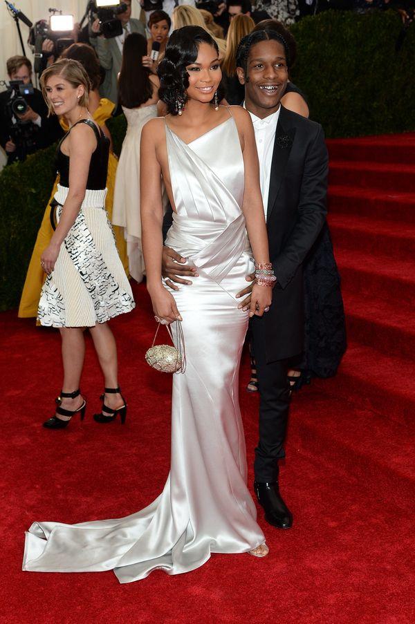 "Chanel and ASAP Rocky make the perfect ""Fashion Killa"" couple."