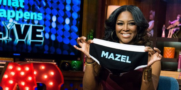WATCH WHAT HAPPENS LIVE -- Pictured: Kenya Moore -- Photo by: Charles Sykes/Bravo/NBCU Photo Bank via Getty Images