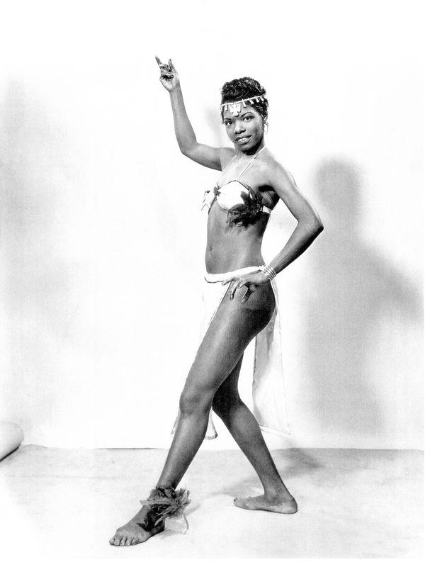 Dancing diva circa 1950s.