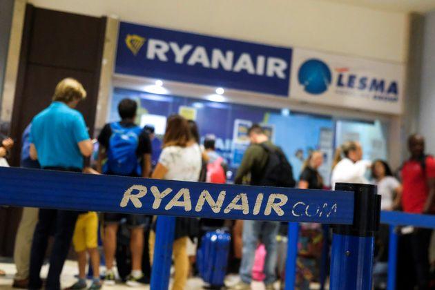 Ακυρώνονται 250 πτήσεις της Ryanair λόγω