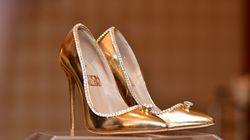 Buy The World's Most Expensive Shoes... Or These Gold Heels For Under