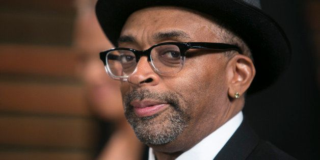 Spike Lee arrives to the 2014 Vanity Fair Oscar Party on March 2, 2014 in West Hollywood, California. AFP PHOTO/ADRIAN SANCHE