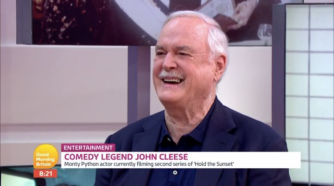 John Cleese Speaks Of Decision To Quit UK: 'I'm Fed Up With The