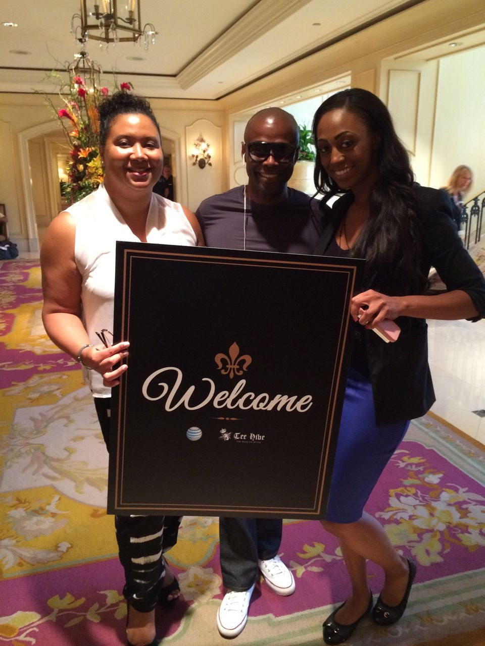 """""""With the Urban League Welcome Committee."""""""