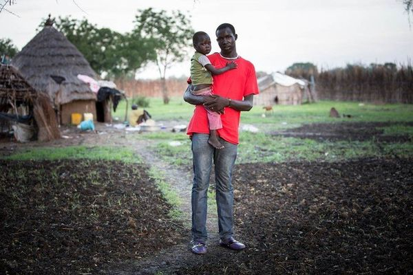 """""""I grew up here in Akobo until I was 16, when I went to the Kakuma refugee camp in Kenya to get an education and to escape th"""