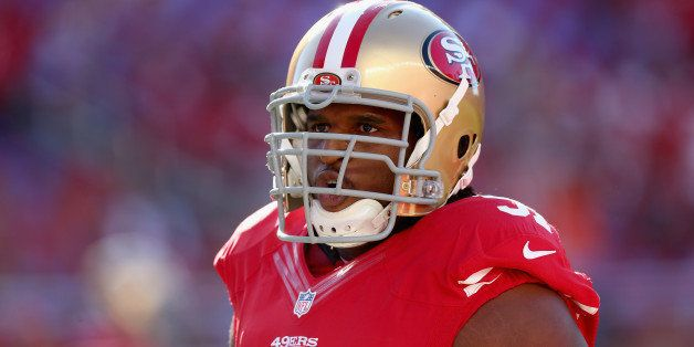 SANTA CLARA, CA - SEPTEMBER 14:  Defensive end Ray McDonald #91 of the San Francisco 49ers looks on prior to the start of the