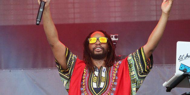 LAS VEGAS, NV - SEPTEMBER 20:  Rapper Lil Jon performs on stage at the 2014 iHeartRadio Music Festival Village on September 2