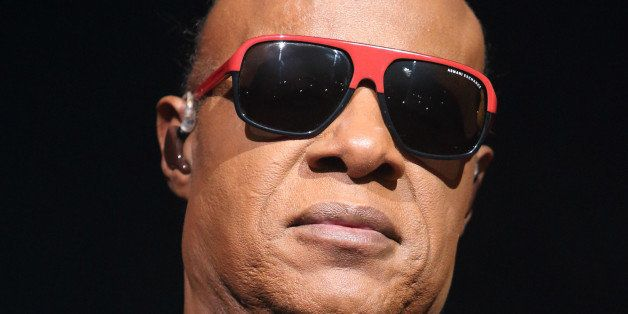"Stevie Wonder performs in concert during his ""Songs in the Key of Life Tour 2014"" at the Wells Fargo Center on Sunday, No"