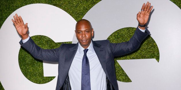Actor and comedian Dave Chappelle attends the 2014 GQ Men of the Year Party at Chateau Marmont in Los Angeles on Thursday, De