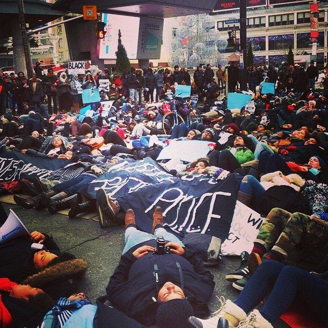 Toronto protests Dec. 13, 2014.