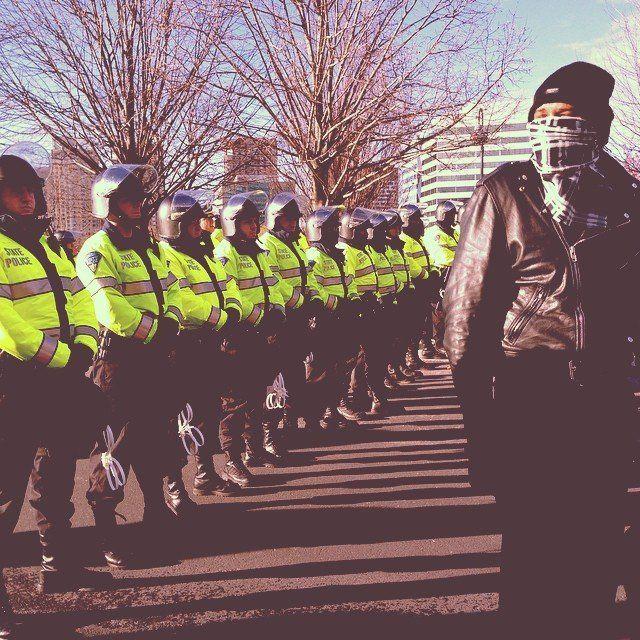 Boston protests on Dec. 13, 2014.
