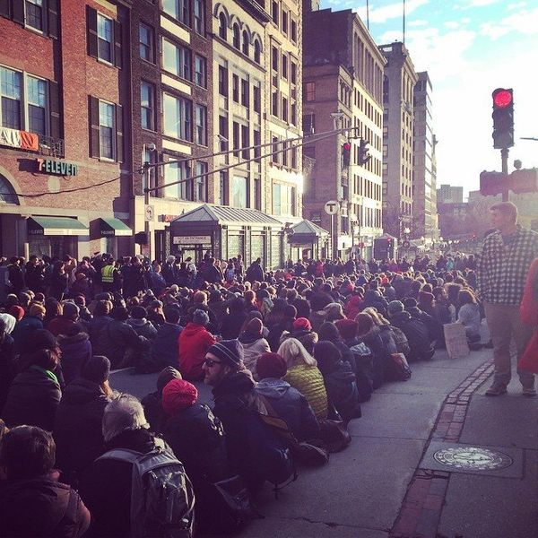 Boston protests on Dec. 13, 2014.