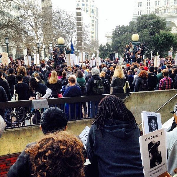 Oakland protests on Dec. 13, 2014.