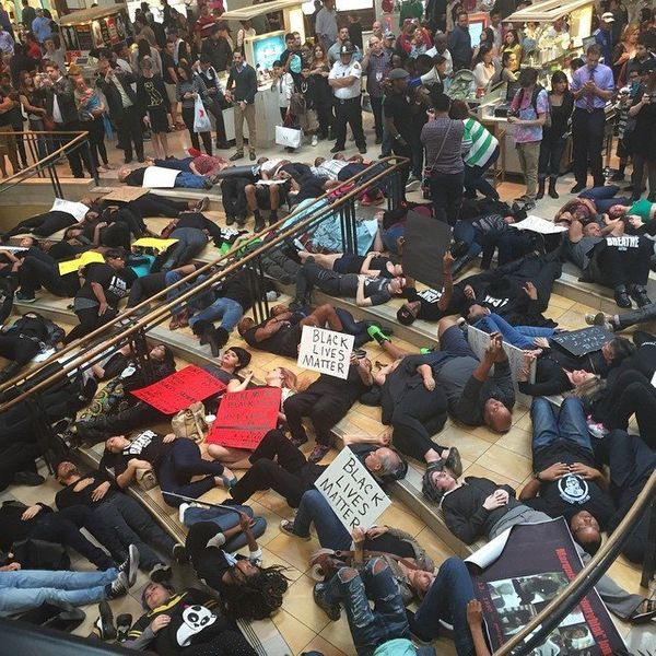 San Antonio protests at North Star Mall on Dec. 13, 2014.