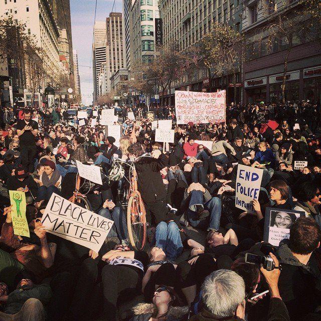 San Francisco protests on Dec. 13, 2014.