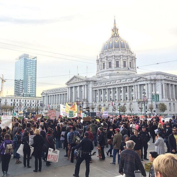 San Francisco protests on Dec. 13, 2014.