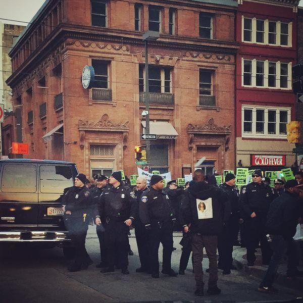Baltimore protests on Dec. 13, 2014.